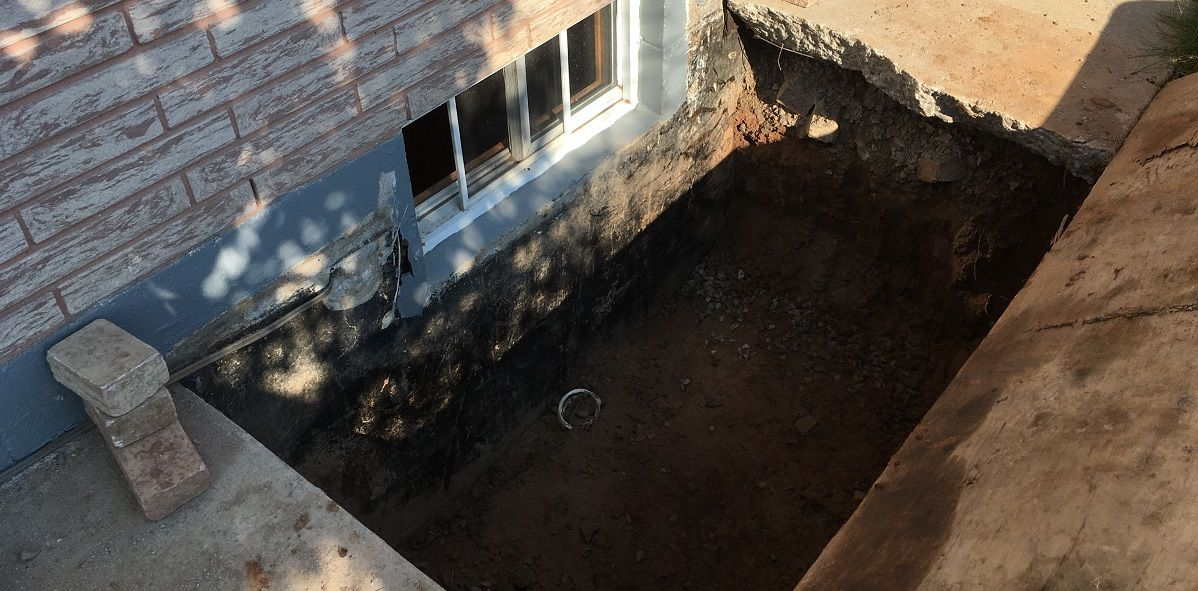converting old windown into basement window egress
