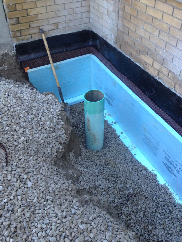 Exterior Foundation Waterproofing Burlington Hamilton