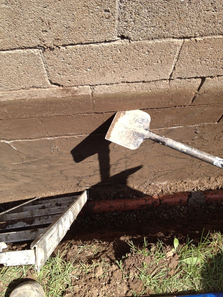 Exterior foundation waterproofing in burlington hamilton for Exterior waterproofing products